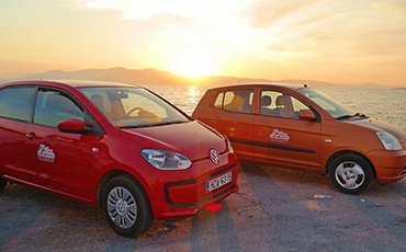 KIA Piccanto, by Bilas Car Rental Naxos